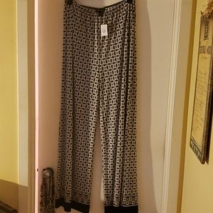 Ashley Stewart patterned slacks